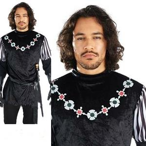 Mens Sherif Of Nottingham Fancy Dress Costume Outfit Medieval Stag Do