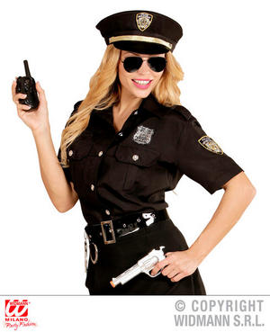 Womens Ladies Police Set Fancy Dress Costume Cops & Robbers Outfit Adult