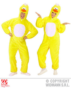 Unisex Adult Plush Duckling Duck Fancy Dress Costume Easter Outfit