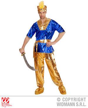Mens Male Sultan Fancy Dress Costume Arabian Outfit Adult