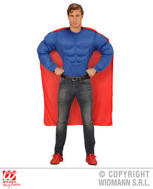 Mens Male Adult Super Hero Fancy Dress Costume Outfit Adult