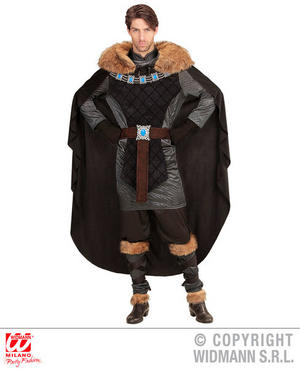 Mens Male Medieval Prince Fancy Dress Costume King Outfit Adult