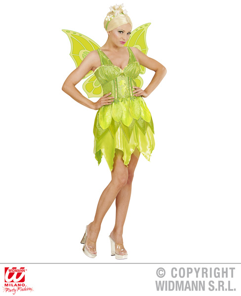Womens Ladies Fantasy Fairy Fancy Dress Costume Pixie Outfit Adult