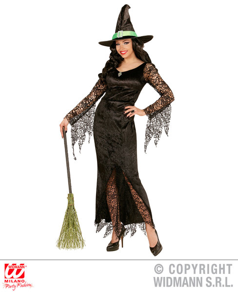 Womens Ladies Sexy Witch Halloween Fancy Dress Costume Outfit Adult