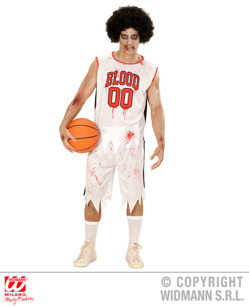 Sentinel Mens Male Adult Zombie Basketball Player Halloween Dress Up Costume Outfit M  sc 1 st  eBay & Mens Male Adult Zombie Basketball Player Halloween Dress Up Costume ...
