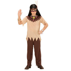 Boys Kids Childs Native American Fancy Dress Costume Wild West Outfit 4-13 Yrs