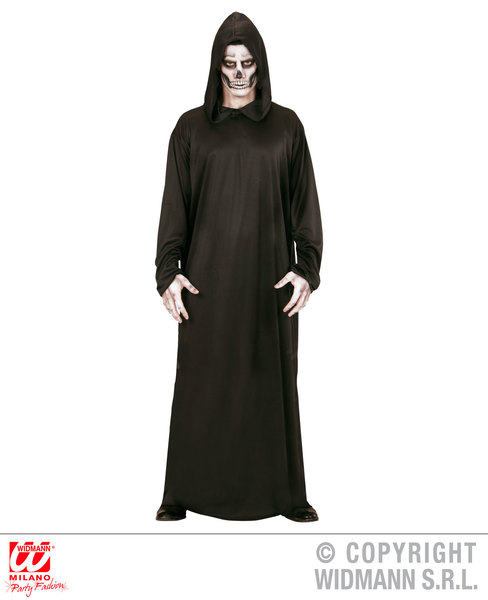 Mens Male Deathly Grim Reaper Halloween Fancy Dress Costume Outfit Adult