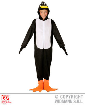 Childs Kids Childrens Penguin Fancy Dress Costume Outfit Children 4-13 Yrs