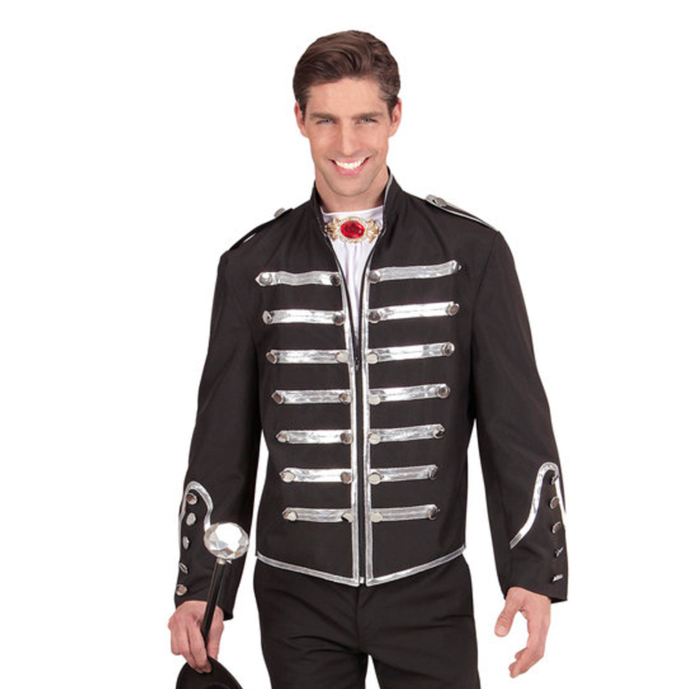 Mens Male Parade Jacket Fancy Dress Costume Prince Charming Outfit Adult
