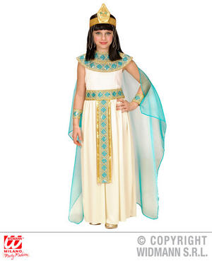 Girls Kids Childs Queen Cleopatra Fancy Dress Costume Egyptian Outfit 4-13 Yrs