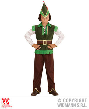 Boys Kids Childs Prince Of Thieves Fancy Dress Costume Book Week Outfit 5-13 Yrs