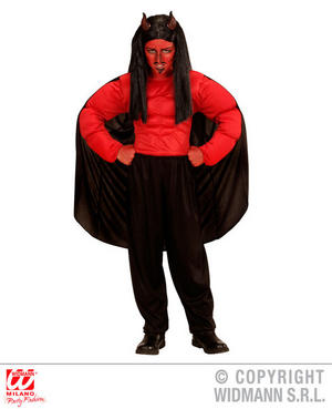 Boys Kids Childs Devil Deamon Fancy Dress Costume Halloween Outfit 5-13 Yrs