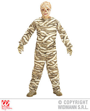 Boys Kids Childs Mummy Halloween Fancy Dress Costume Outfit Children 5-16 Yrs