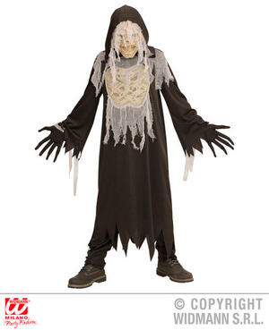 Boys Kids Childs Mummy Ghost Halloween Fancy Dress Costume Outfit 5-16 Yrs