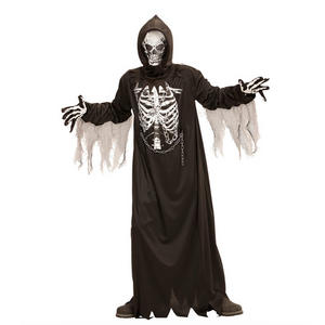 Boys Kids Childs Chain Halloween Grim Reaper Fancy Dress Costume Outfit 4-16 Yrs