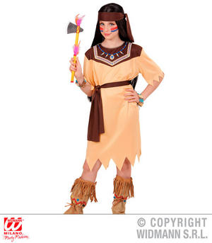 Girls Kids Childs Native American Fancy Dress Costume Wild West Outfit 4-13 Yrs