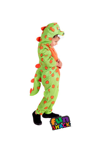 Boys Kids Childs Toddlers Dinosaur Halloween Costume Outfit 2-4 Yrs