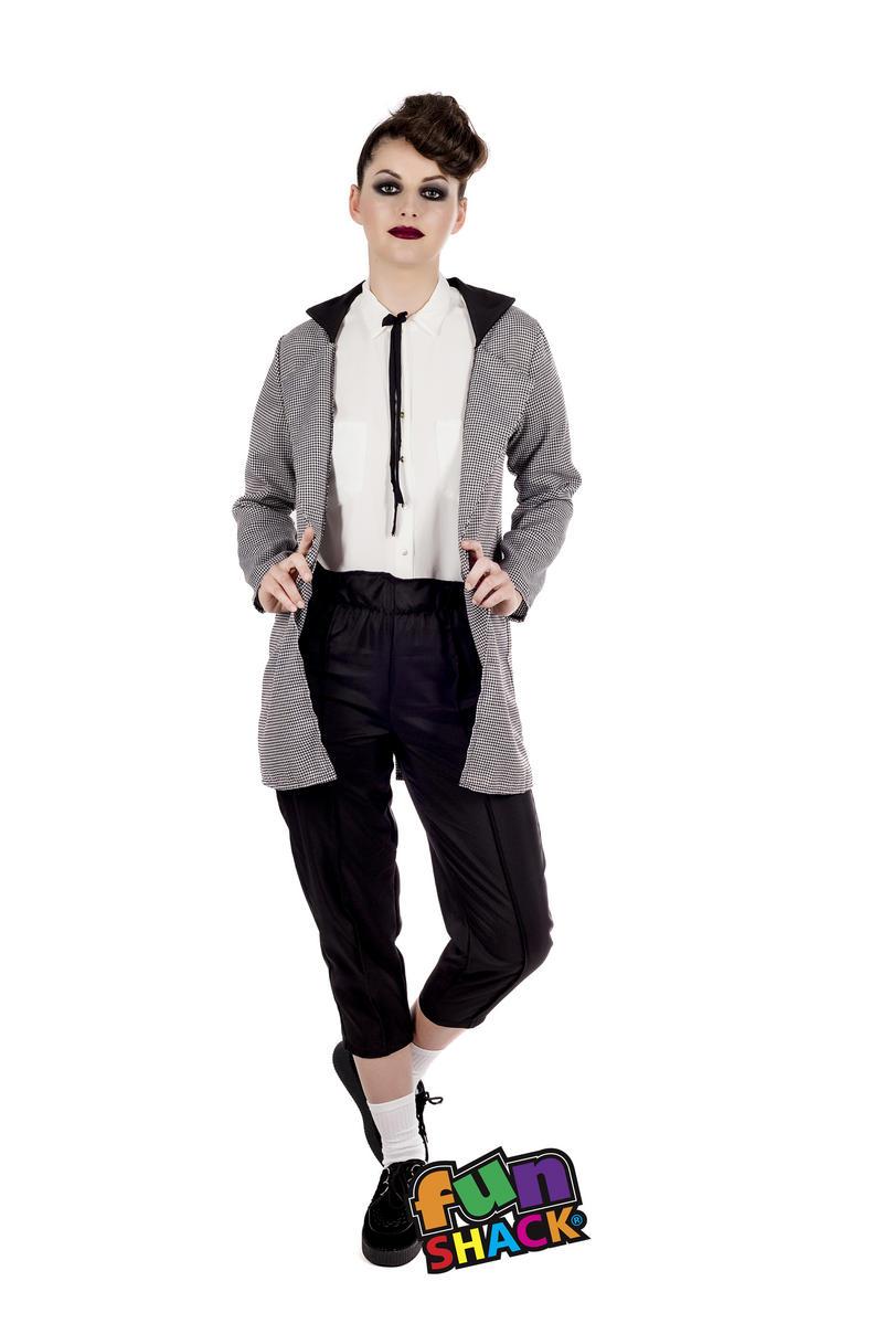 Womens Ladies Adult Teddy Girl 50S Rock N Roll Fancy Dress