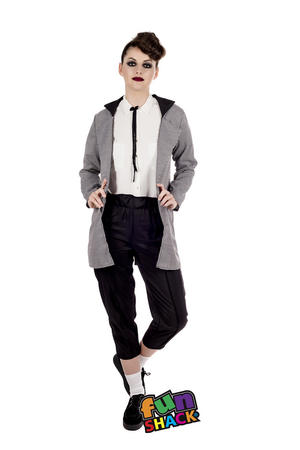 Womens Ladies Adult Teddy Girl 50S Rock N Roll Fancy Dress Costume Outfit Uk 8-22