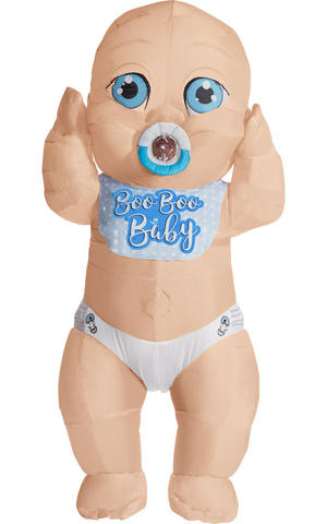 Adult Inflatable Baby Fancy Dress Costume Stag Do Outfit