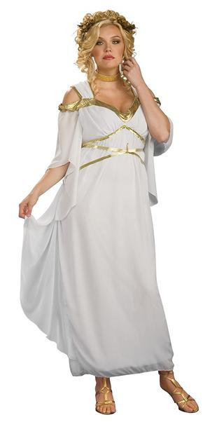 Ladies Womens Roman Goddess Fancy Dress Costume Ancient Rome Outfit