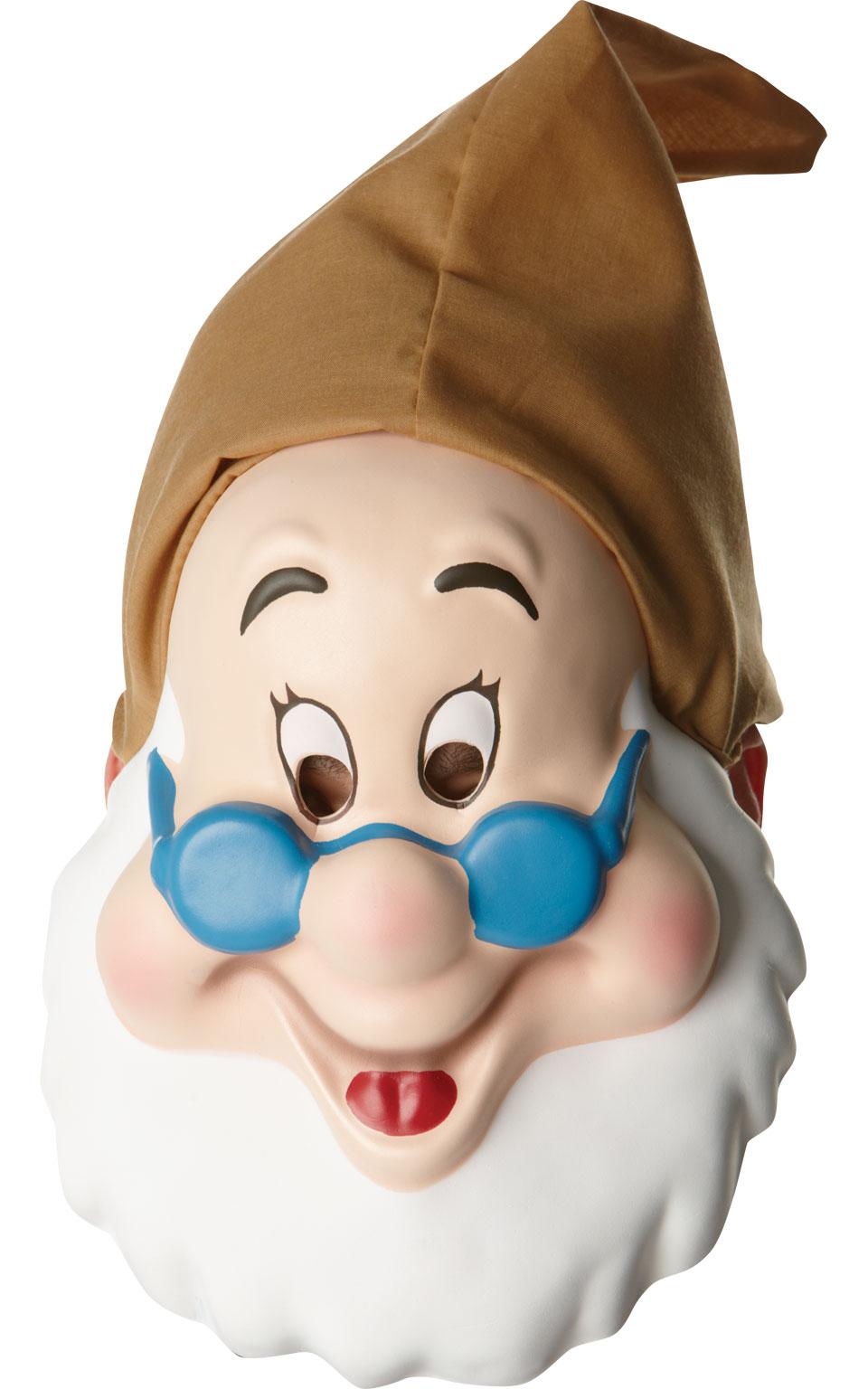 Disney Doc Mask Snow White Seven Dwarfs Fancy Dress Costume Accessory Adult