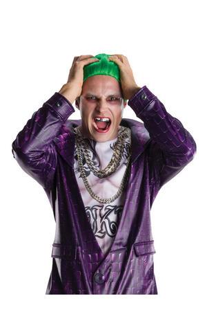 Joker Teeth Suicide Squad Villain Halloween Fancy Dress Accessory Adult