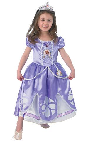 Kids Sofia the First Ballet Pumps Disney Princess Fancy Dress Costume Accessory