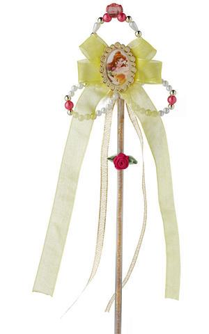 Belle Wand Beauty & the Beast Princess Fancy Dress Costume Accessory Prop