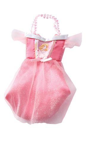 Childs Sleeping Beauty Costume Bag Disney Princess Fancy Dress Accessory