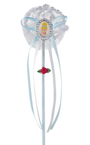 Childs Cinderella Wand Disney Princess Fancy Dress Accessory Prop