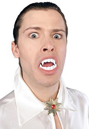 Vampire Teeth Dracula Halloween Fancy Dress Costume Accessory Adult