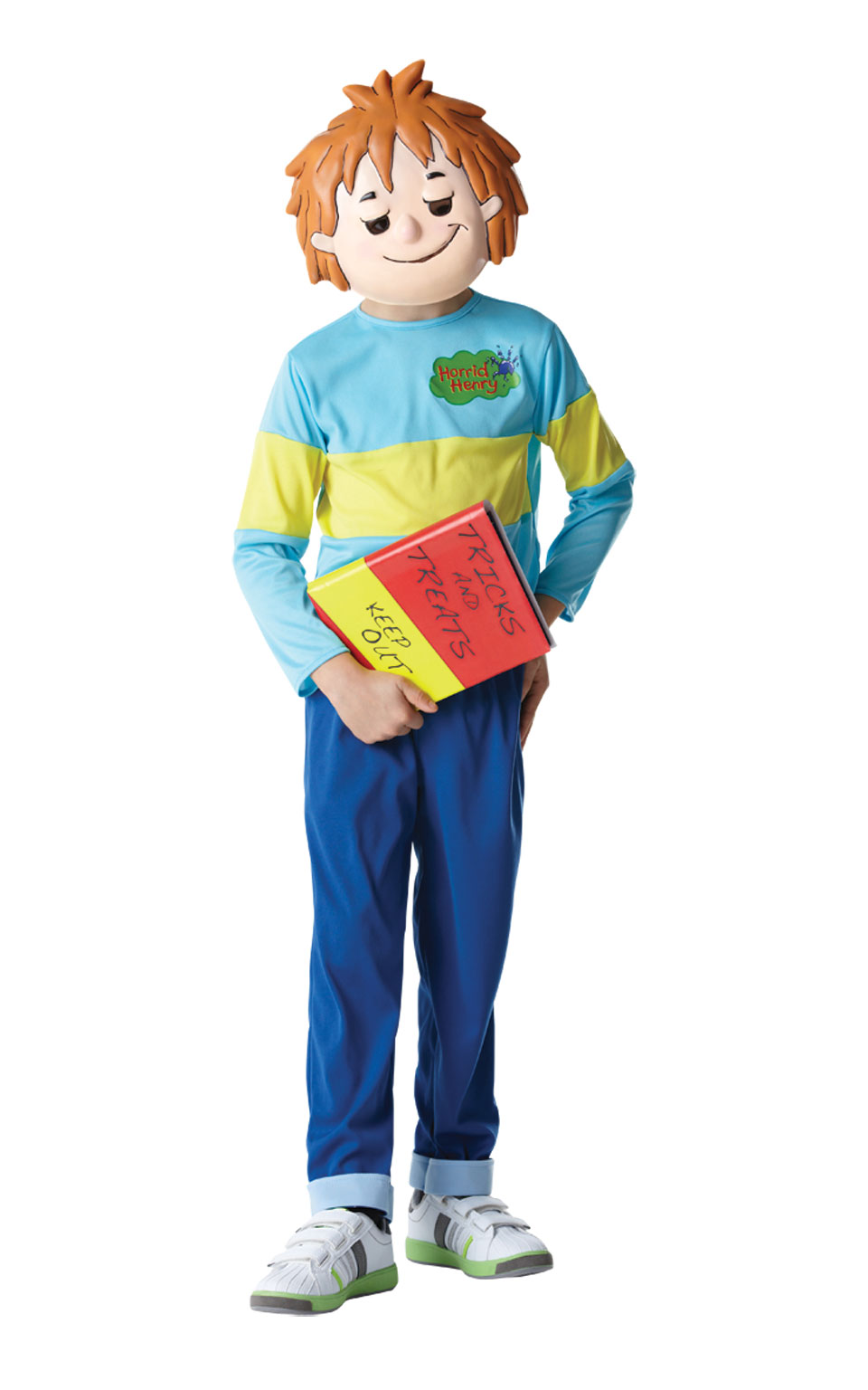 Sentinel Kids Boys Childs Horrid Henry Fancy Dress Costume Outfit Rubies Book Week Day  sc 1 st  eBay & Kids Boys Childs Horrid Henry Fancy Dress Costume Outfit Rubies Book ...