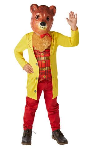 Kids Childs Mr Bear Fancy Dress Costume Outfit Rubies Godilocks Book Week
