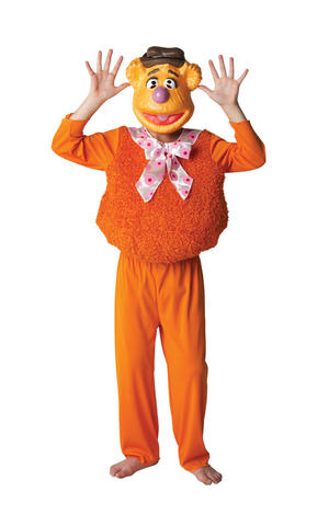 Kids Childs Deluxe Fozzy Bear Fancy Dress Costume Outfit Rubies The Muppets