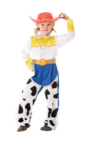 Girls Kids Childs Jessie Fancy Dress Costume Outfit Toy Story Disney Cowgirl