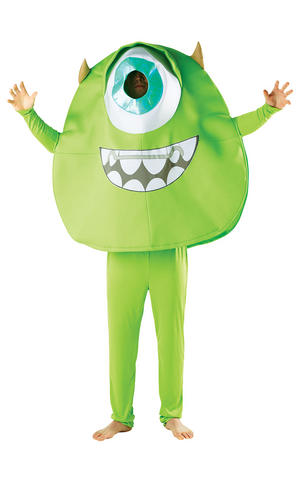 Adult Mike Fancy Dress Costume Outfit Monsters University Disney Pixar Halloween