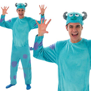Adult Sulley Fancy Dress Costume Outfit Monsters University Pixar Halloween