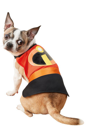 Pet Dog Incredibles 2 Pet Costume Fancy Dress Costume Outfit Rubies DISNEY