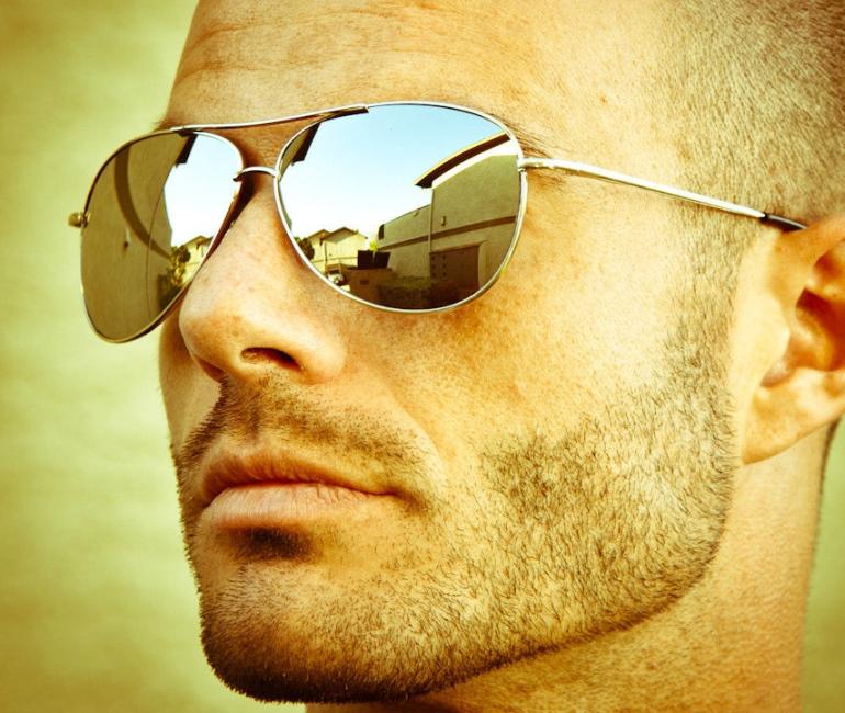 Sentinel Silver Full Mirror Mirrored Sunglasses Fashion 80s Retro Mens  Womens Avitor a9dfa2921e3
