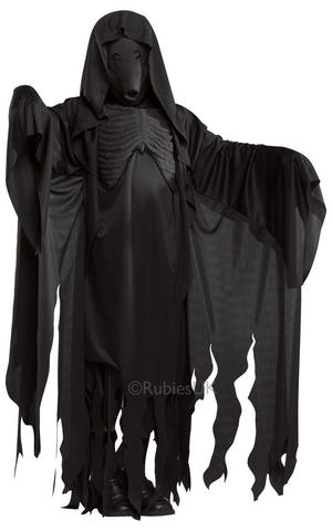 Dementor Fancy Dress Costume Outfit Mens Male Harry Potter Halloween Demon