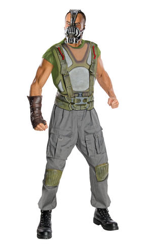 Deluxe Bane Fancy Dress Costume Outfit Halloween Cosplay Adult Mens Male M To XL