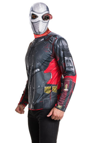 Deadshot Adult Kit Fancy Dress Costume Outfit Adult Mens Male Std Or XL