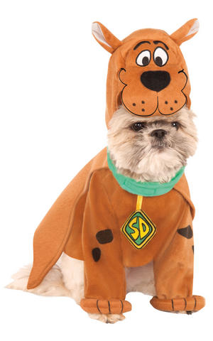 Rubies Scooby Doo Fancy Dress Costume Outfit Dog Halloween Pet Animal S To XL