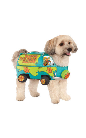 Scooby Mystery Machine Fancy Dress Costume Outfit Dog Pet Animal S To XL