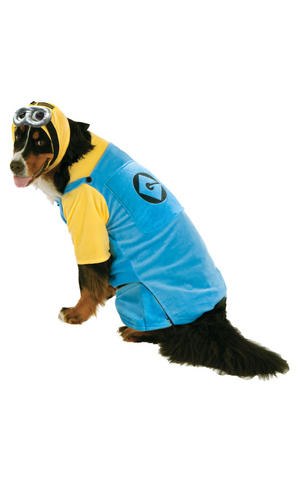 Rubies Minion Fancy Dress Costume Outfit Dog The Minions Pet Animal S To XxXL