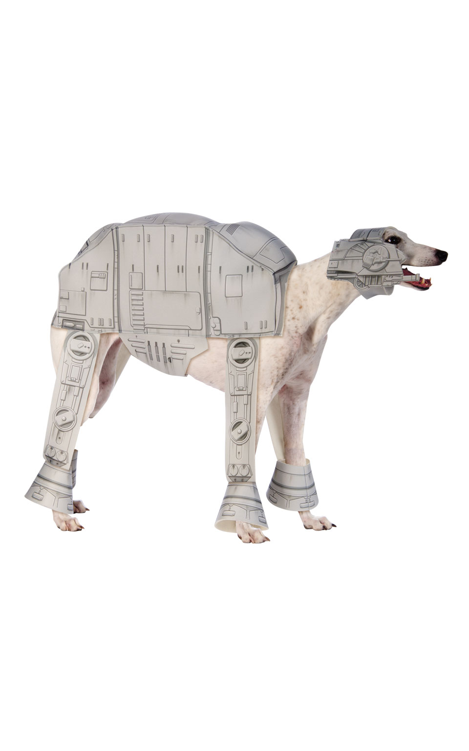 At-At Fancy Dress Costume Outfit Dog Star Wars Robot Pet Animal S To XL