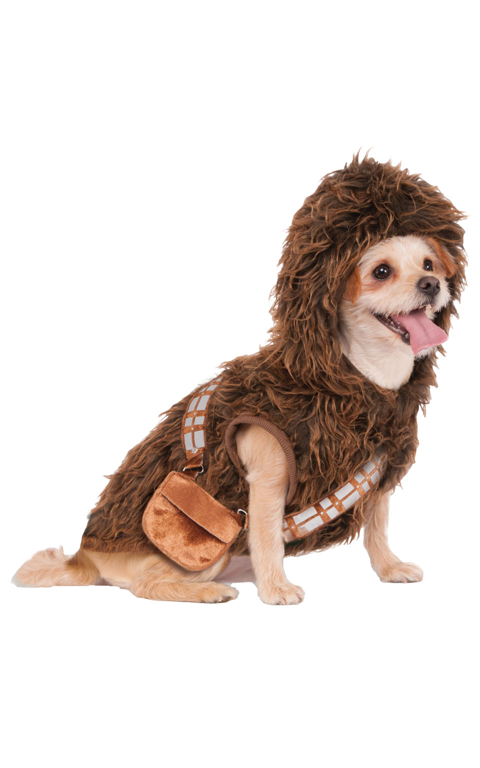 Chewbacca Fancy Dress Costume Outfit Dog Star Wars Wookie Pet Animal S To XL