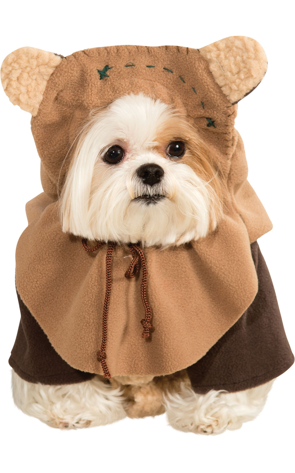Ewok Fancy Dress Costume Outfit Dog Pet Star Wars Halloween Animal S To XL