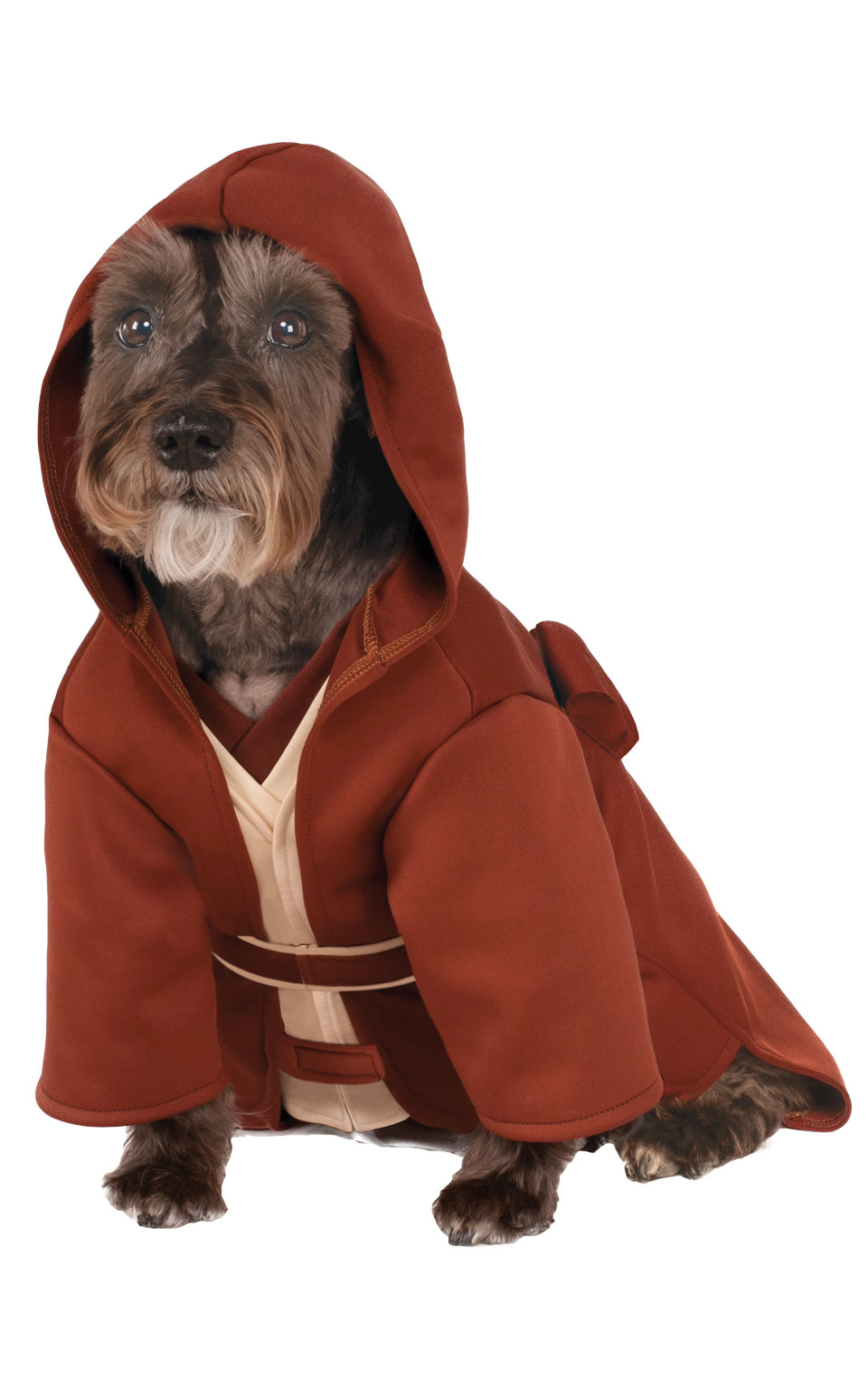 Jedi Knight Robe Fancy Dress Costume Outfit Dog Star Wars Pet Animal S To XL